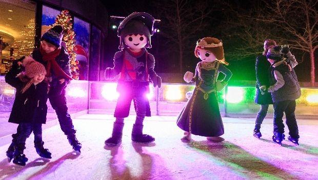 Playmobil-Funpark-Winter-Weihnachten-Saison-2019-2020-Figuren-Eislaufbahn