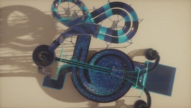 Polin Waterparks neue Wasserrutsche Time Rider