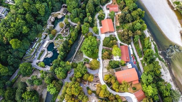 Tierpark Hellabrunn von oben