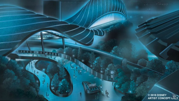 Walt Disney World Magic Kingdom Tron Lightcycle Run neu 2021