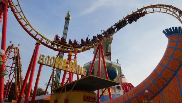 Wiener Prater Boomerang Achterbahn