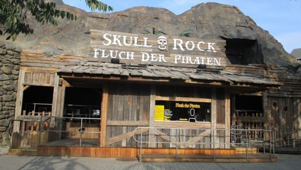 Wiener Prater Skull Rock Fluch der Piraten