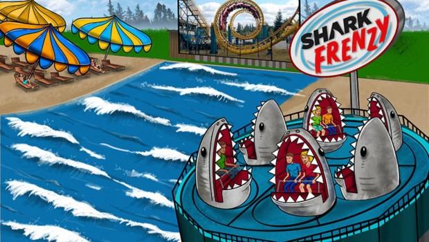 Wild Waves Neuheit 2020 Shark Frenzy