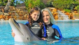 Zoomarine Algarve: Mit Delfinen schwimmen