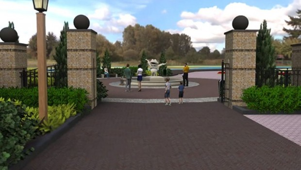 Duinrell Artwork Eingangsbereich 2020