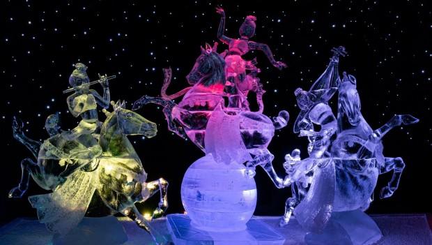 Eiswelt Elstal 2020 Chinesische Eiskunst