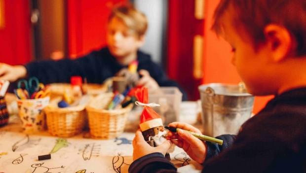 Erlebniswelt SteinReich Weihnachtsmarkt Wichtelwerkstatt 2019