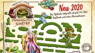 Freizeit-Land Geiselwind stellt interaktives Heckenlabyrinth im Asia-Stil für 2020 in Aussicht