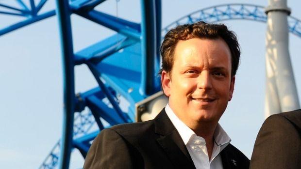 Michael Mack Blue Fire Portrait