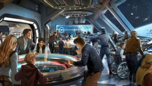 Star Wars Galactic Starcruiser Hotel Lobby
