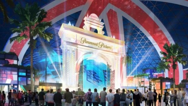 The London Resort Paramount Artwork 2019