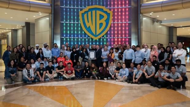 Warner Bros World Abu Dhabi World Record