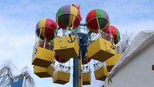 """Heide Park: """"Peppas Ballonfahrt"""" eröffnet im März 2020"""