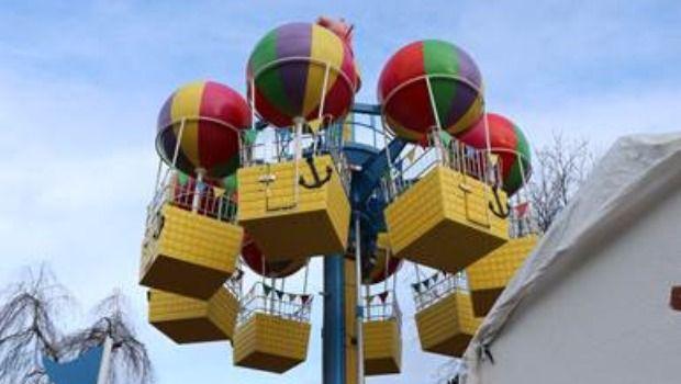 Heide Park Peppa Pig Ballonfahrt 2020
