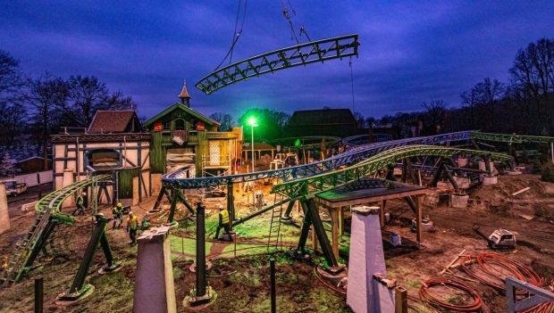 Efteling Max und Moritz Baustelle 2020