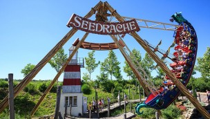 Familypark Neusiedlersee Schiffschaukel Seedrache