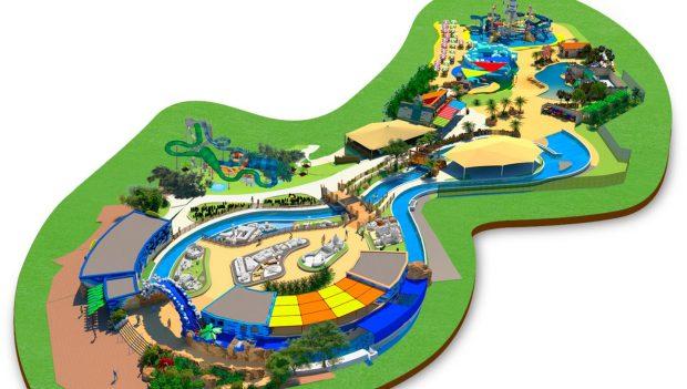 Gardaland Wasserpark LEGO Plan