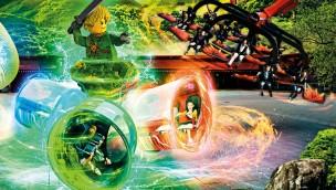 """LEGOLAND Deutschland 2020: Überkopf-Neuheit für """"LEGO Ninjago World"""" enthüllt"""