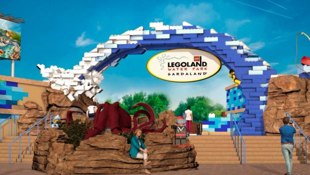 LEGOLAND Wasserpark Eingang Rendering