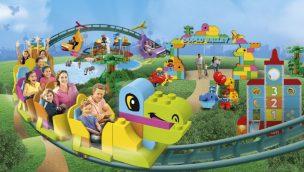 """LEGOLAND Windsor eröffnet 2020 weltweit ersten """"DUPLO Dino Coaster"""""""