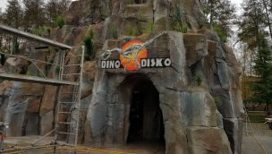 Parc Saint Paul Dino Disk'O Eingang
