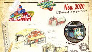 Geiselwind Tuki's verrückte Farm Themenfahrt