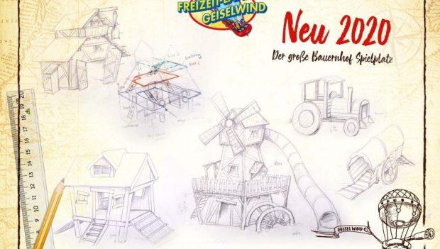 Geiselwind Tuki's verrückte Farm Spielplatz