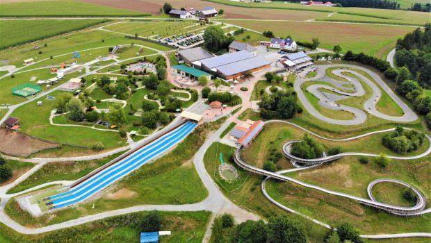 Erlebnispark Voglsam von oben