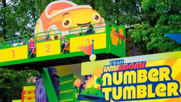 Movie Park Germany Team Umizoomi – Number Tumbler