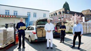 Als Geste in Coronazeiten: Europa-Park spendet Schokohasen an Kliniken in Freiburg und Ortenau