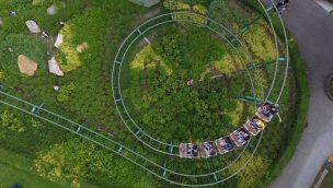 Freizeitpark Lochmühle Eichhörnchenbahn