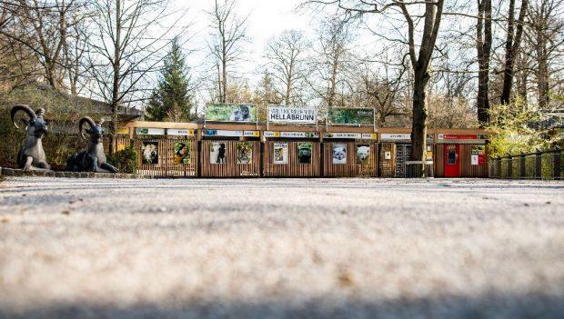 Tierpark Hellabrunn Isar Eingang
