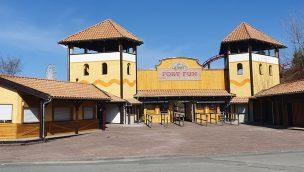 FORT FUN Abenteuerland Eingang Renovierung 2020