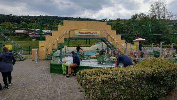 potts park Corona Maßnahmen Wasserläufer