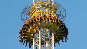 Skyline Park präsentiert 85 Meter hohen Free-Fall-Tower als Neuheit 2020