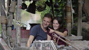 Bootsfahrt im Erlebnis-Zoo Hannover