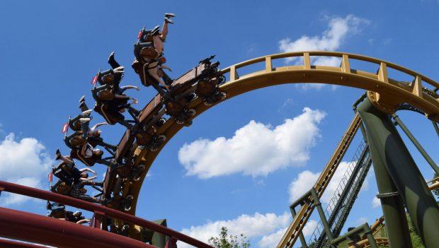 Erlebnispark Tripsdrill Eröffnung Hals-über-Kopf und Volldampf