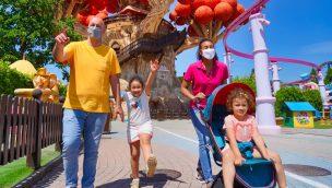 Gardaland feiert Corona-Öffnung als erster Freizeitpark in Italien