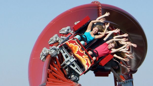 Holiday Park Sky Scream Heartline Roll nah