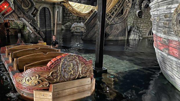 Piraten in Batavia 2020 Boot Wasser