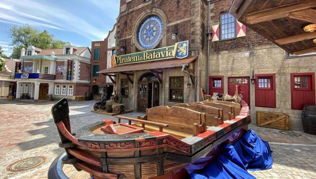 Piraten in Batavia Neueröffnung EIngang
