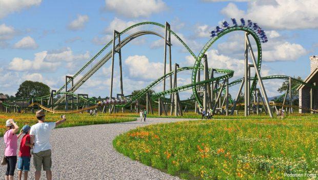 Tayto Park 2021 neue Achterbahnen Baubeginn