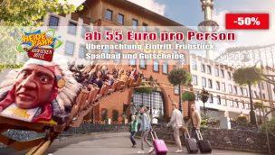 Heide Park Abenteuerhotel Angebot 2020