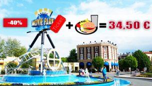Movie Park-Eintritt + Hamburger-Menü nur 34,50 Euro – TOP Angebot 2020