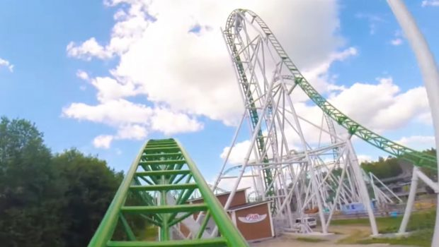 Pitts Special PowerLand Finnland PowerPark Infinity Coaster POV OnRide