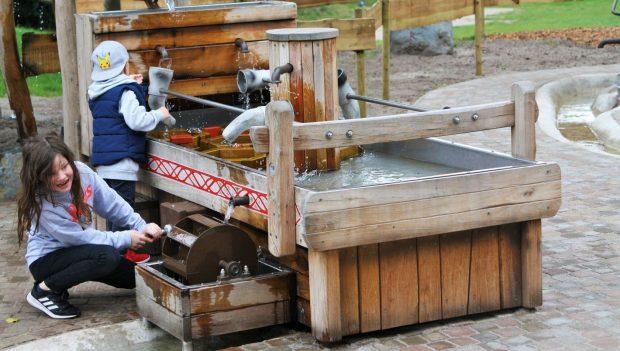 Wasserspielplatz Tier- und Freizeitpark Thüle neu