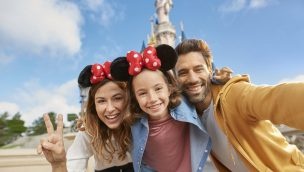 Disneyland Paris Familie Schloss