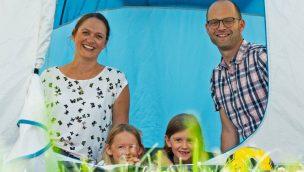 Ravensburger Spieleland Zelten eigenes Zelt
