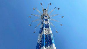 Skyline Park höchstes Kettenkarussell der Welt Allgäuflieger