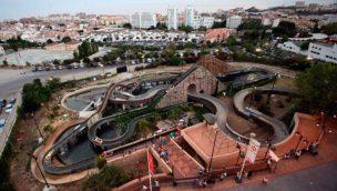 Tivoli World Spanien Wildwasserbahn